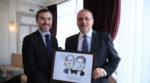 ... comme William et Pascal, dirigeants de GFP et nouveau sponsor de l'événement !