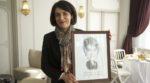 Catherine Touvrey est repartie avec son portrait !