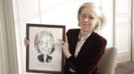 Brigitte BOUQUOT est reparti avec son portrait.