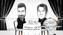 Petit déjeuner Off de La Lettre de l'Assurance avec Thierry Derez, Covéa, le 1er juillet