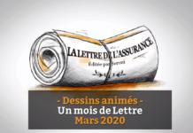 Logo lettre assurance vidéo mars 2020