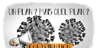 Serie Covid 19 contribution plan épidémie
