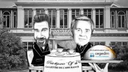 Illustration dessin PDJ Off Lettre Assurance Thomas Saunier