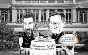 Illustration petit dejeuner off lettre assurance Jean Paul Faugere ACPR Benoit Martin