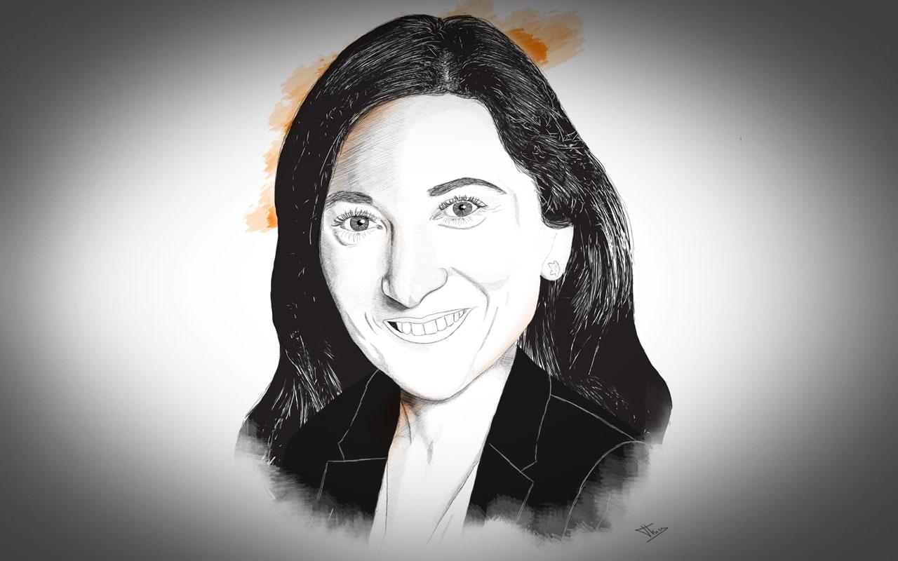 Portrait Sophie Elkrief Aesio Mutuelle